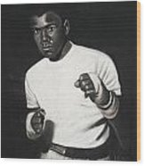 Cassius Clay Wood Print