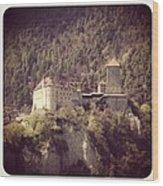 Castel Tirolo Wood Print