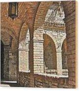Castello Amorosa Wood Print