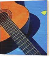 Castilian Blues Wood Print