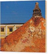 Castillo De Oro Wood Print by Skip Hunt