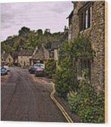 Castle Combe Wood Print