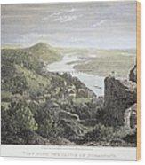 Castle Donaustauf, 1823 Wood Print