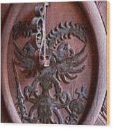 Castle Doorknocker Wood Print