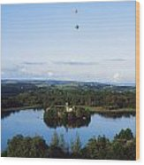 Castle Island, Lough Key Forest Park Wood Print