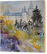 Castle Of Veves Belgium Wood Print