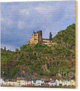 Castle On The Rhine Wood Print