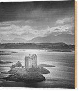 Castle Stalker Wood Print