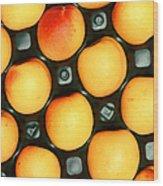 Castlebrite Apricot Wood Print by Photo Researchers