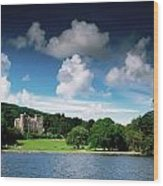 Castlewellan Castle & Lake, Co Down Wood Print