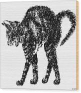 Cat-artwork-prints-2 Wood Print