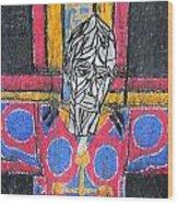 Catalan Jesus Wood Print
