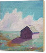 Catawba Virginia Barn Wood Print