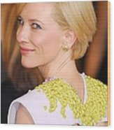 Cate Blanchett At Arrivals For The 83rd Wood Print by Everett