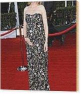 Cate Blanchett Wearing A Balenciaga Wood Print