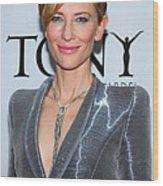 Cate Blanchett Wearing A Van Cleef & Wood Print