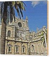 Catedral De Santa Maria De La Sede - Sevilla Wood Print