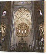 Catedral De Segovia Wood Print