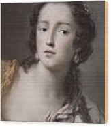 Caterina Sagredo Barbarigo As 'bernice' Wood Print