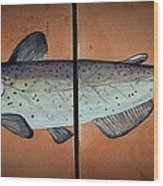 Catfish Wood Print