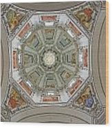 Cathedral Dome Interior, Close Up Wood Print