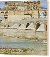 Cathedral Mosque In Cordoba Wood Print by Artur Bogacki