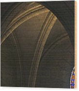Cathedral Of Chartes Wood Print by Frits Selier
