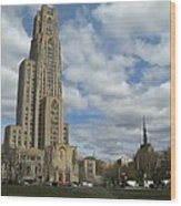 Cathedral Of Learning Pittsburgh Wood Print