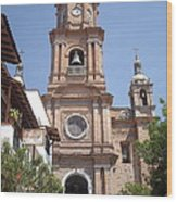 Cathedral Of Our Lady Of Guadalupe Wood Print