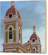 Cathedral On The Square 2 Wood Print