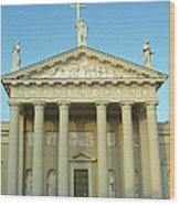 Cathedral. Vilnius. Lithuania Wood Print