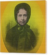 Catherine Booth, Co-founder Salvation Wood Print