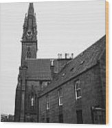 Catholic Cathedral Of St Mary Of The Assumption Aberdeen Scotland Uk Wood Print by Joe Fox
