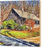 Catoctin Visitor Center Wood Print