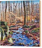 Catoctin Woods Wood Print