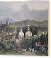 Catskill Village, 1839 Wood Print