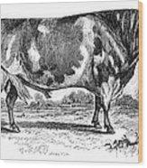 Cattle, 1867 Wood Print