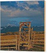 Catttle Shute Wood Print