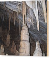 Cave Formations 44 Wood Print