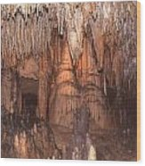 Cave Formations 5 Wood Print