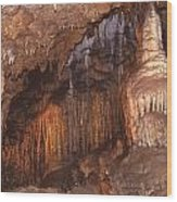 Cave Formations Wood Print