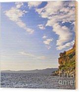 Cave Rock - Lake Tahoe Wood Print