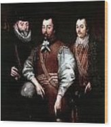 Cavendish Drake And Hawkins Wood Print