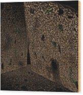 Cavern Walls Wood Print