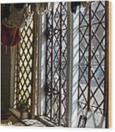 Cecilenhof Palace Window Wood Print