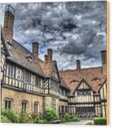 Cecilienhof Palace At Neuer Garten Berlin Wood Print