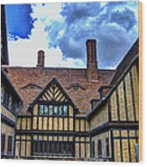 Cecilienhof Palace At Neuer Garten Wood Print