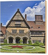 Cecilienhof Palace Berlin Germany Wood Print