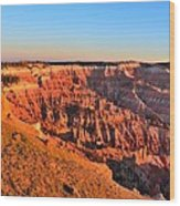Cedar Breaks Sunset Wood Print