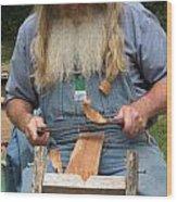 Cedar Shake Shavings Wood Print